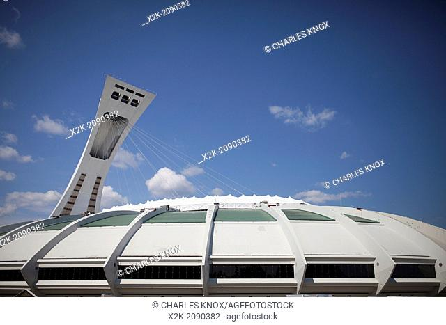 Olympic Stadium, Montreal, Quebec, Canada