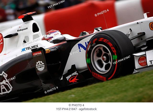 Kamui Kobayashi, Qualifying, Formula One, Canadian Grand Prix, Montreal, Canada