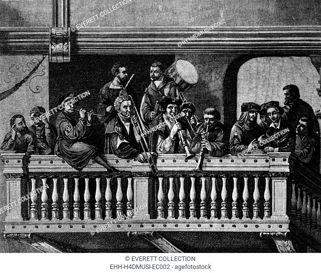 16th century musicians