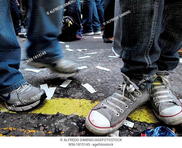 street legs in a party
