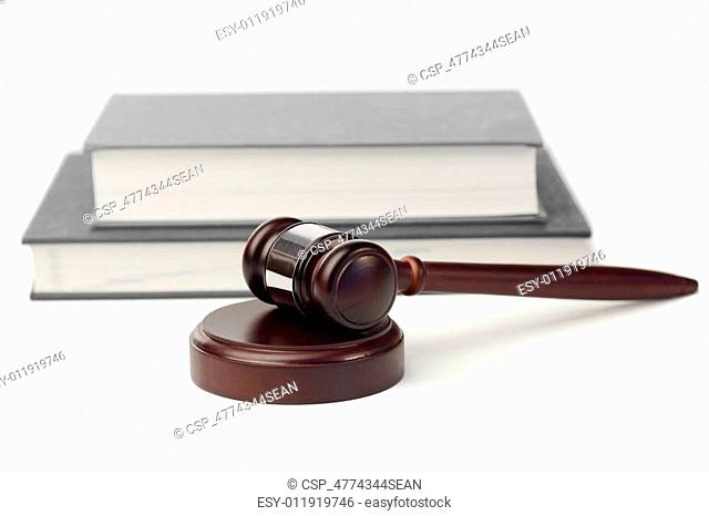 Gavel and grey book