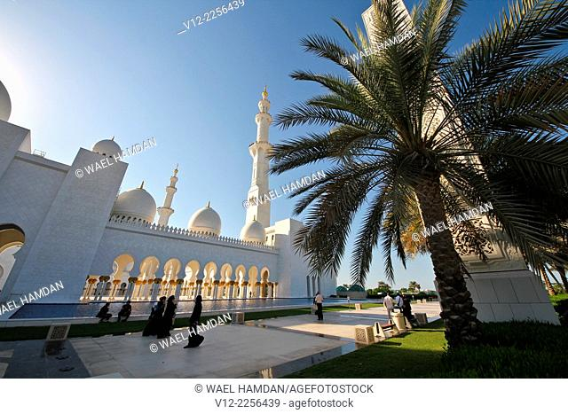 Sheikh Zayed bin Sultan al-Nahyan Mosque, Abu Dhabi, United Arab Emirates