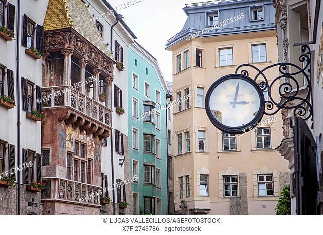 Goldenes Dachl, The Golden Roof, Herzog-Friedrich-Strasse, Innsbruck, Austria