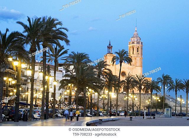 Sitges. Barcelona province, Catalonia, Spain