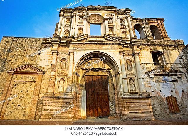 Church of San Augustin in Antigua, Guatemala
