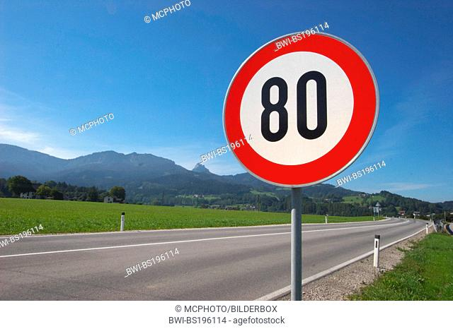 Speed limiting 80 kmh