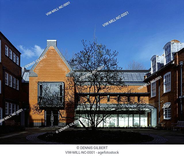NEWNHAM COLLEGE LIBRARY, CAMBRIDGE, UNITED KINGDOM, Architect JOHN MILLER AND PARTNERS