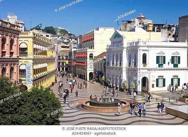 Largo do Senado Square, Macau City, China (November 2008)