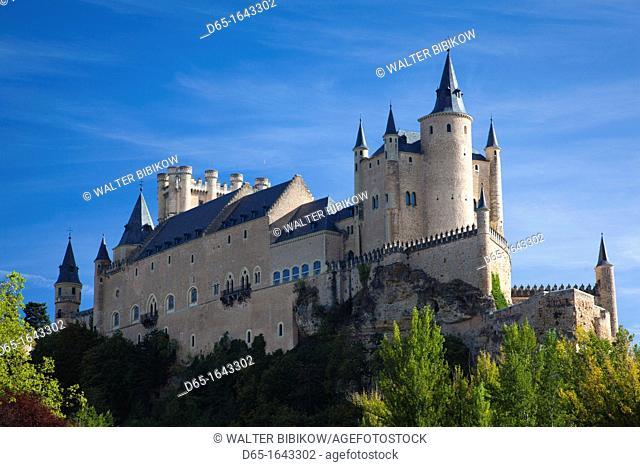 Spain, Castilla y Leon Region, Segovia Province, Segovia, The Alcazar