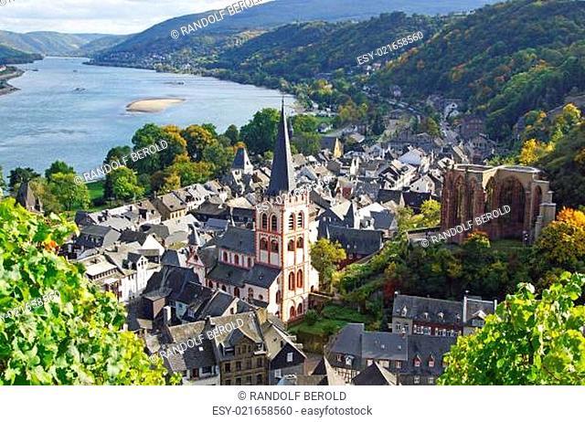 Bacharach am Rhein - Deutschland