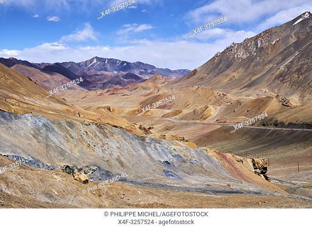 Tadjikistan, Asie centrale, Gorno Badakhshan, Haut Badakhshan, le Pamir, la Haute Route du Pamir / Tajikistan, Central Asia, Gorno Badakhshan, the Pamir