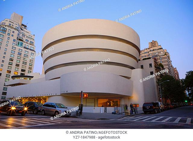 The Solomon R  Guggenheim Museum, New York, USA