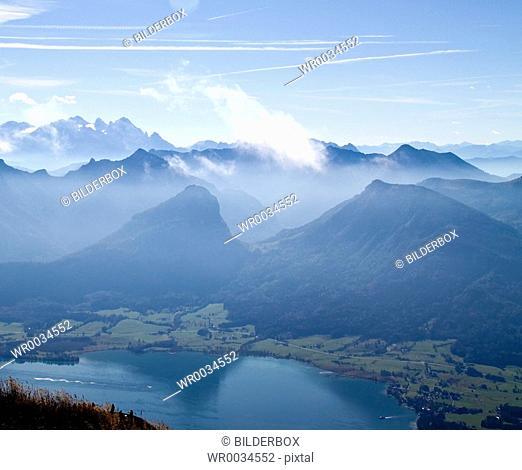 Austria, view from Schafberg
