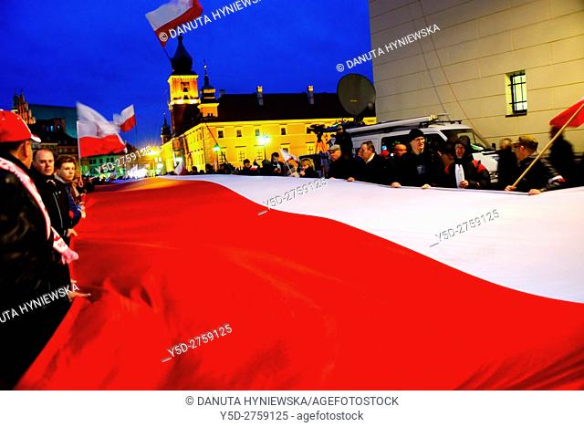 April 10 every year Polish people gather to memorize anniversary of Polish Air Force Tu-154 crash near Smolensk (Russia) on 10 of April 2010 in which 96 Polish...