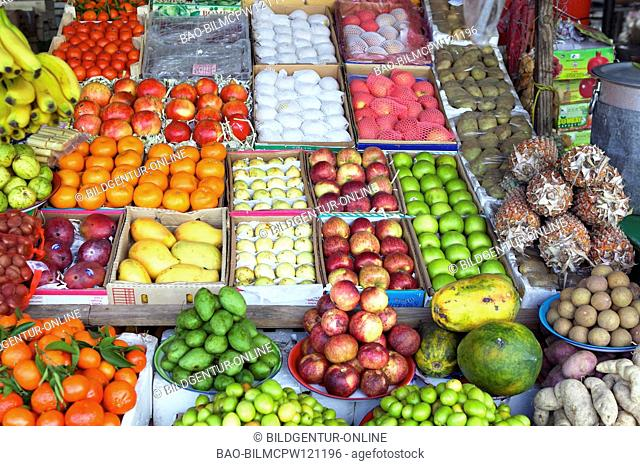 UAE Fujairah, Fruit markets United Arab Emirates