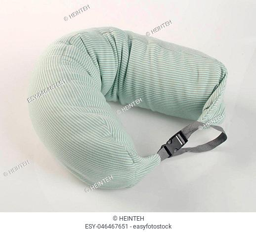 pillow or colour Neck pillow on the background