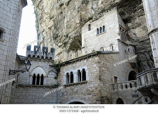 France, Lot, Rocamadour  Religious city