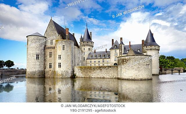 Sully Castle, Loire Valley, France