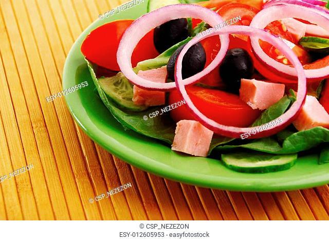 delicious fresh vegetables
