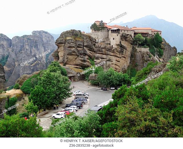Meteora, Greece, The Holy Monastery of Varlaam