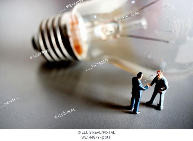 Arrangement, idea, business concept