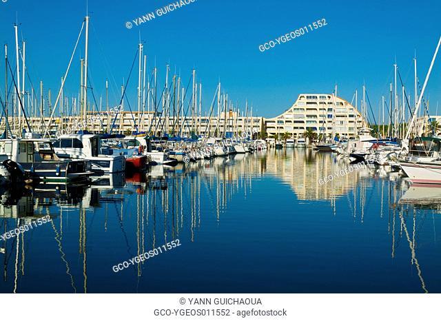 Harbour Of Port Camargue, Gard, Languedoc-Roussillon, France