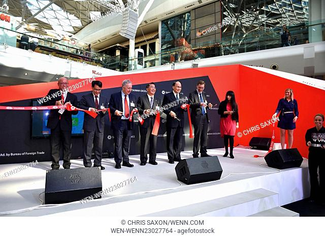 'TAITRA' Taiwan Excellence Showcase at Westfield London Featuring: Atmosphere Where: London, United Kingdom When: 15 Oct 2015 Credit: Chris Saxon/WENN