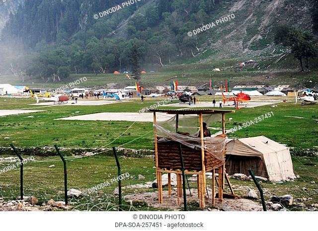 tent, amarnath yatra, Jammu Kashmir, India, Asia