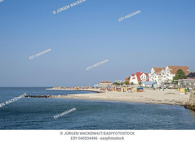 Beach, Laboe, Baltic Sea, Schleswig-Holstein, Germany, Europe