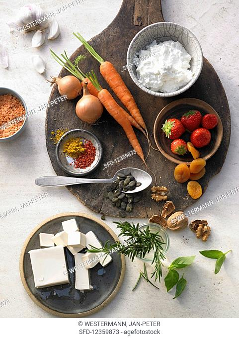 Basic ingredients for spreads