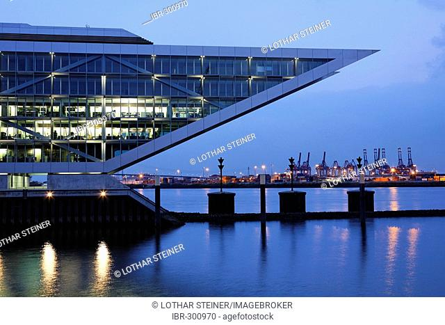 Dockland (office building), Hamburg Harbour, Germany