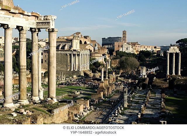 Roman Forum, Rome, Latium, Italy