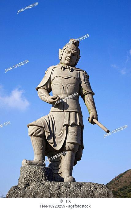 Asia, China, Hong Kong, Lantau, Buddha, Buddhism, Buddhist, Religion, Po Lin Monastery, Po Lin, Monastery, Statue, Statues, Ngong Ping, Tourism, Holiday