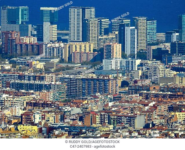 iagonal Mar , Barcelona, Catalonia, Spain