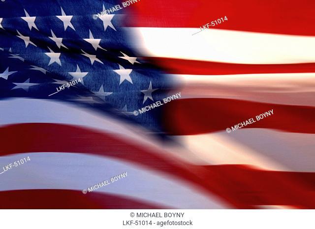 Stars and Stripes, us-american Flag, USA