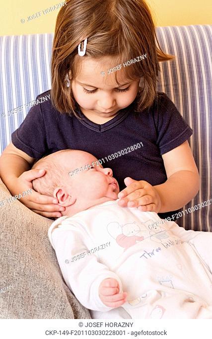 child, children, baby, girl, sister, sibling, family