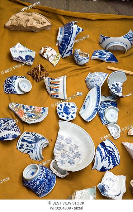Panjiayuan Flea Market of Antiques,Beijing