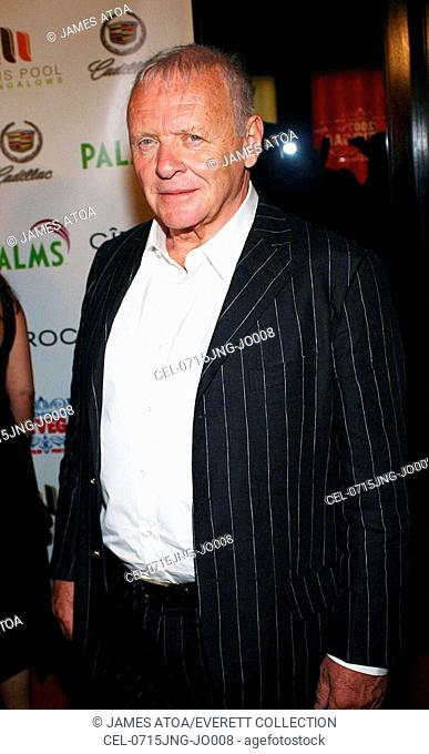 Sir Anthony Hopkins at arrivals for 2007 CineVegas Film Festival Awards Reception, The Palms Pool and Bungalows, Las Vegas, NV, June 15, 2007