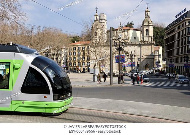 Plaza del Arenal, Bilbao, Bizkaia, Euskadi