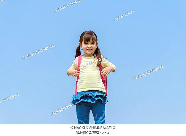 Japanese elementary schoolgirl