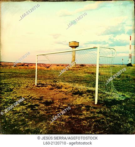 Football, Medinaceli, Soria, Castilla y León, Spain