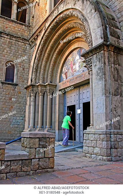church of Sant Ramon Nonat, Barcelona, Catalonia, Spain