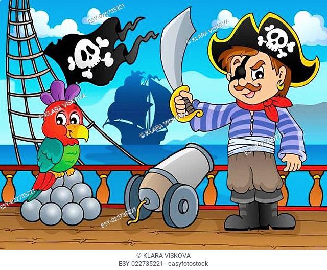 Pirate ship deck topic 3