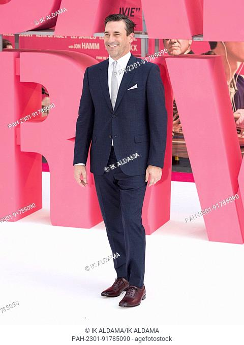 John Hamm attends the European Premiere of BABY DRIVER. London, UK. 21/06/2017 | usage worldwide. - London/United Kingdom of Great Britain and Northern Ireland