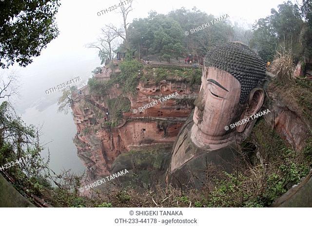 Grand Buddha, Leshan, Sichuan Province, China