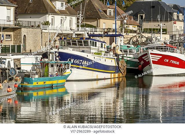 Port-en-Bessin, Calvados, France