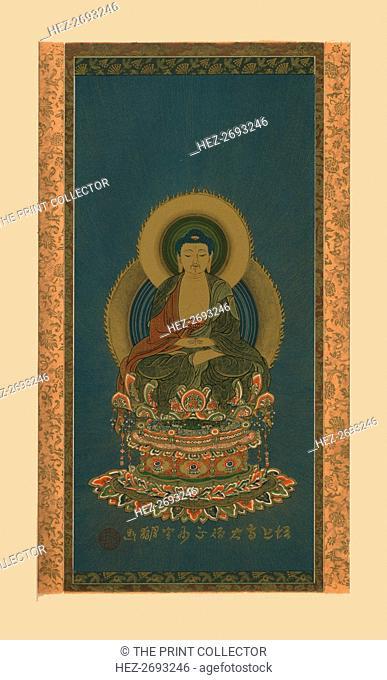Amitabha, early 19th century, (1886). Artist: Abbot of Zojoji