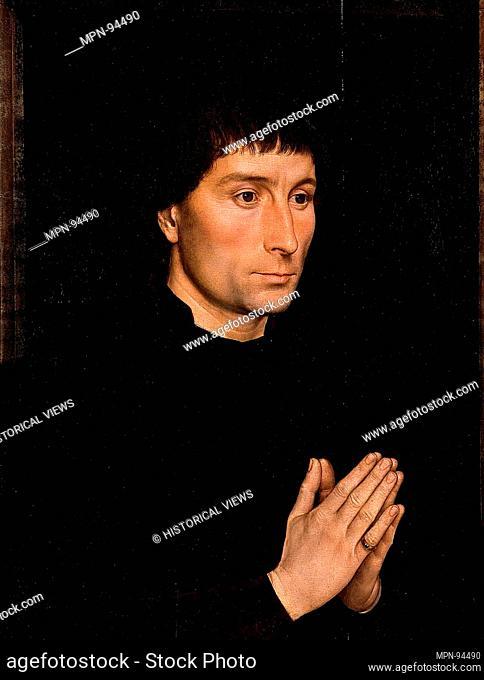 Tommaso di Folco Portinari (1428-1501); Maria Portinari (Maria Maddalena Baroncelli, born 1456). Artist: Hans Memling (Netherlandish, Seligenstadt