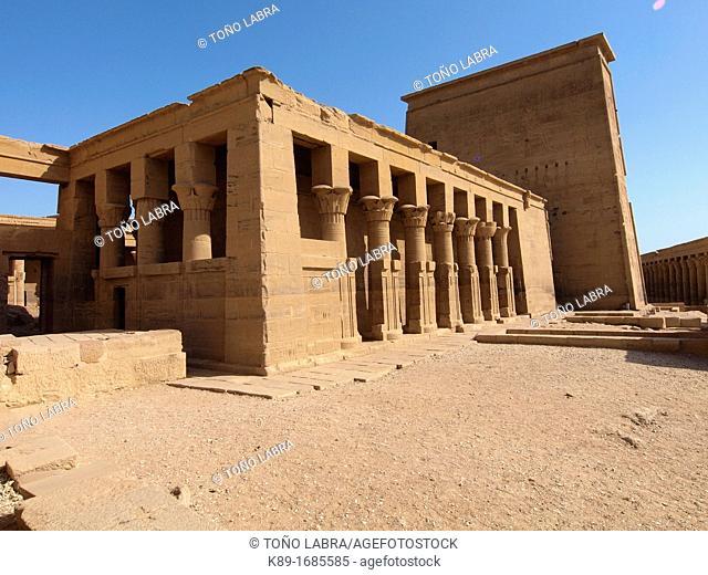 Philae, Isis Temple, Aswan, Upper Egypt