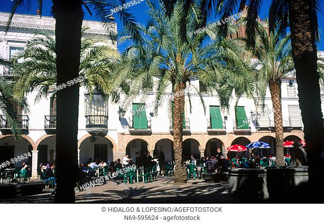 Plaza Grande. 16th Century. Zafra (Badajoz). Spain